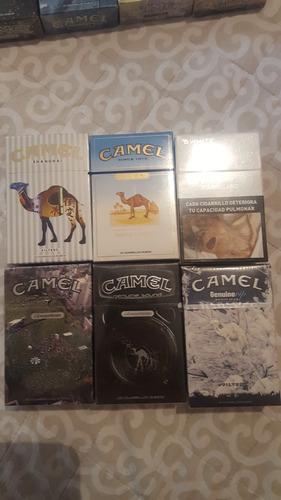 camel coleccion caja de cigarros llenas