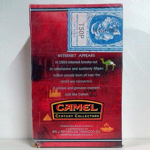 camel filters box century collectors
