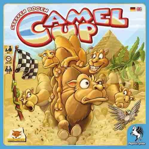 Camel Up Juego De Mesa Familiar Para 2 A 8 Jugadores 620 00 En