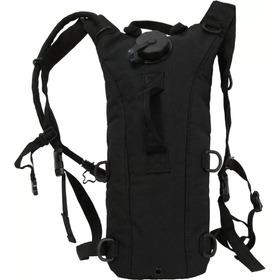 Camelback Militar Negro Con Vejiga De 2.5 Litros Maletin