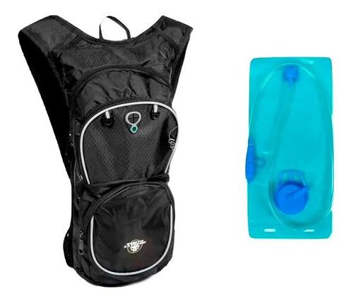 camelback mochila hidratante running c/bolsa agua 2 lts