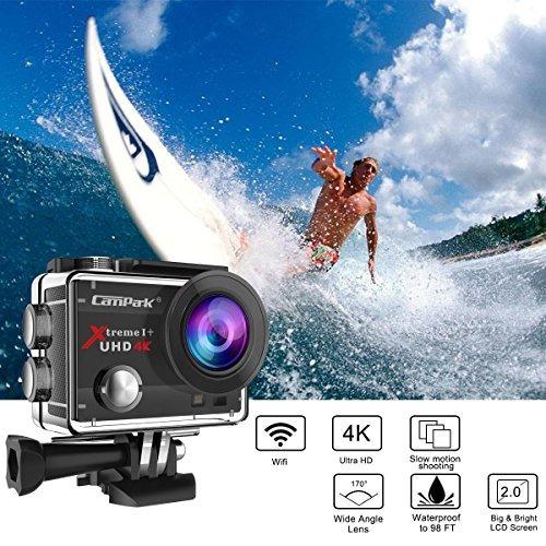 camera 16mp 4k wifi waterproof sports cam 170