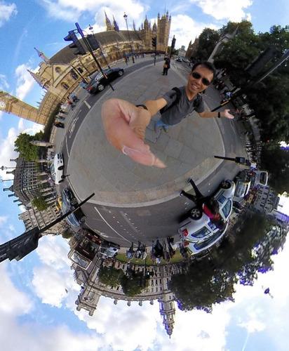 camera 360 graus insta360 nano 3k para iphone
