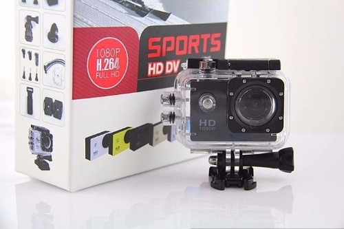 camera action go cam pro sport ultra  full hd prova d'agua