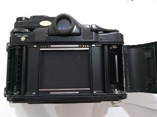 camera antiga pentax asahi 6x7 c/ 02 lentes