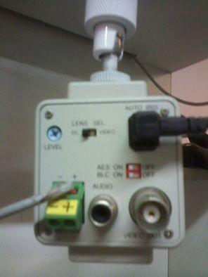 camera b/w ccd1/3 420 linhas 0.1 lux 12v.(lente não inclusa)