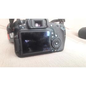 Camera Canom 60d Lente 50 M 1.8