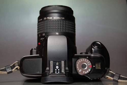 camera canon analógica modelo eos 5000 igual uma nova