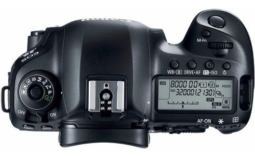 camera canon eos 5d mark iv c/ lente 24-105mm f/4l is ii usm