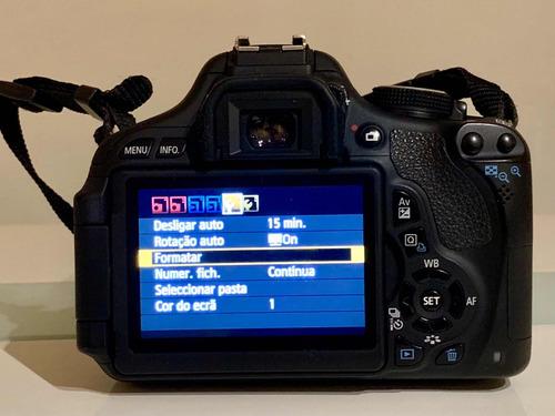 camera canon eos rebel t3i kit completo
