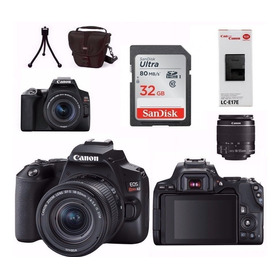Câmera Canon Sl3+18-55 Is Stm 4k + Bolsa + 32gb + Brindes Nf