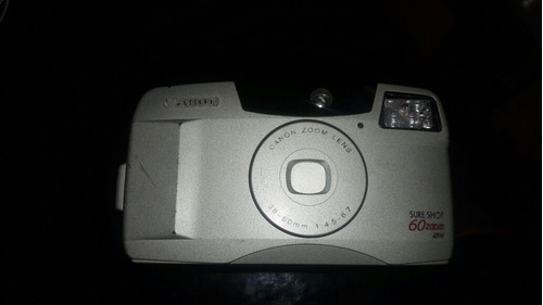 camera canon sure shot 60 zoom analogica