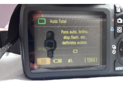 camera canon t3 semi nova acompanha bolsa