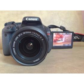 Câmera Canon T3i - Lente 18-55mm + Tripé/ Bolsa/ Cartão 16gb