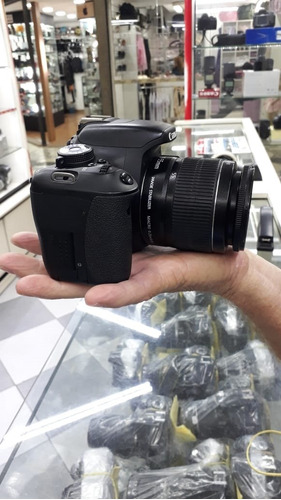 camera canon t3i + lente 18-55m +  garantia