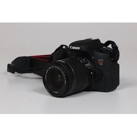 Câmera Canon T6s Com Objetiva 18~55 Stm Apenas 7412 Clicks