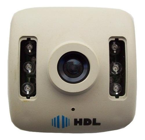 camera cftv hdl hm30 pb ir night 1/3ccd 3,6mm 380l 0,5lux