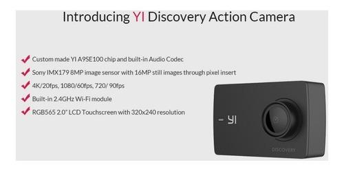 camera de ação xiaomi yi 4k discovery + caixa estanque!!!