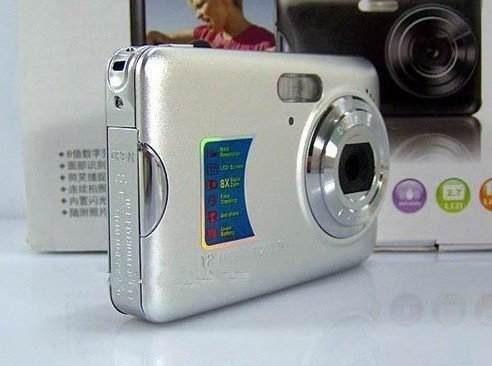 camera digital e video, nao precisa de pilha, bateria intern
