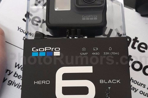 camera digital go pro hero 6 lacrada na caixa