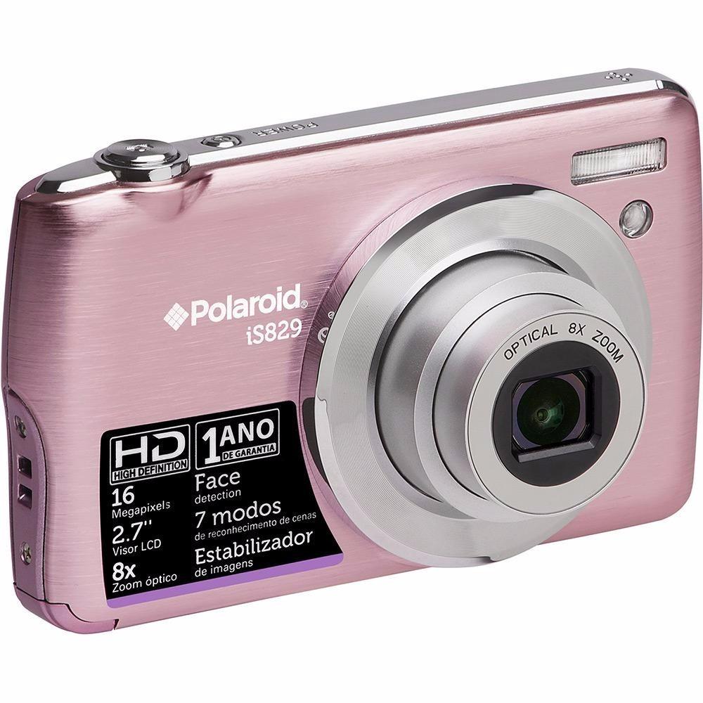 98df726daa Camera Digital Polaroid Is829 Nova Com Garantia. - R$ 275,00 em Mercado  Livre