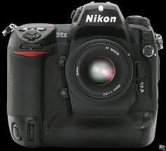 camera digital profissional nikon d2x corpo nova!