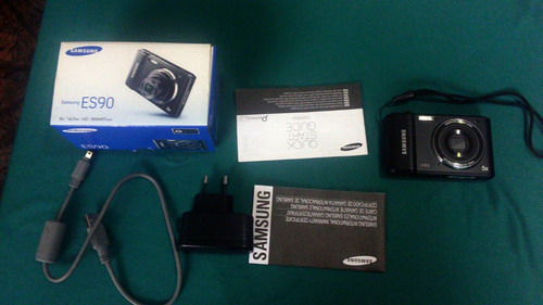 camera digital samsung es90  14.2 mb hd