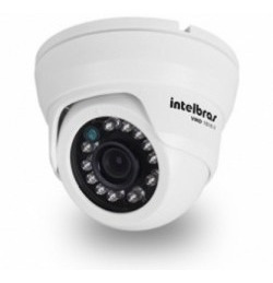 camera dome intelbras 3.6 mm 10 mt c/ infra vmd 1010 ir