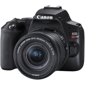 Câmera Dslr Canon Eos Rebel Sl3 Com Lente 18-55mm