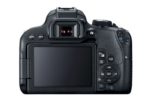 camera dslr canon t7i 18-55mm wifi profissional nota fiscal