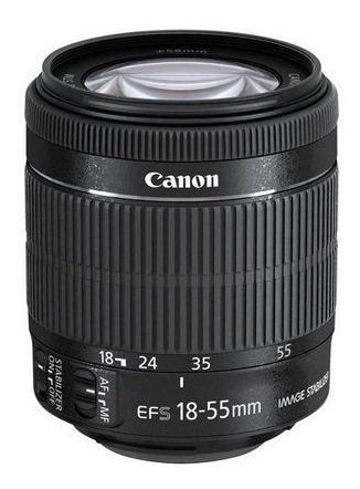 camera eos rebel t6i corpo + lente 18-55 ef-s stm 312