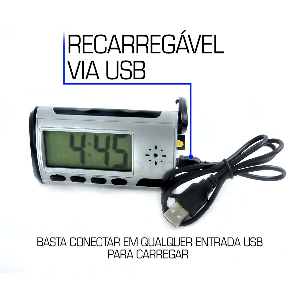 41ae9d2d2fb Camera Espia Camuflada Para Banheiro Mini Com Sensor De 16gb - R  189