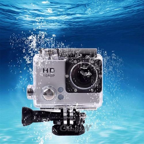 camera esporte extremo mergulho ate 10 metros rafting airsof