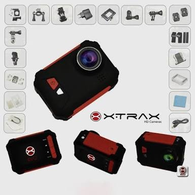 camera evo xtrax wi fi original filmadora hd 1080 prova água