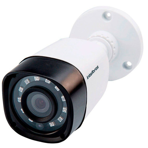 camera externa intelbras infra hdcvi 720p hd vhd 1010b g4