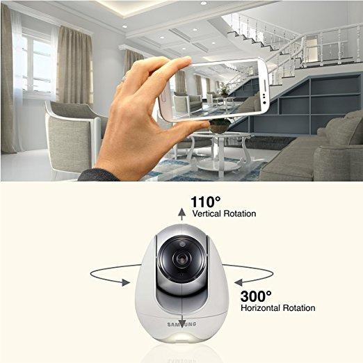 Camera Extra Baba Eletrônica Samsung Wisenet Babyview