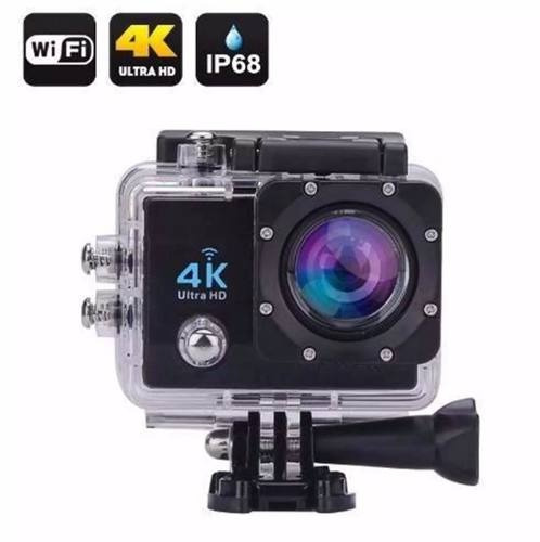 camera filmadora 4k wifi prova d` água capacete moto espiã