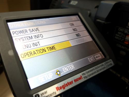 camera filmadora panasonic ag-hmc150