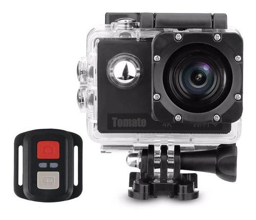 camera filmadora prova dágua 4k wifi tomate controle 1091k