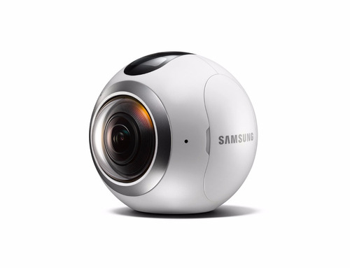 camera filmadora samsung gear 360º sm c-200 lacrada + brinde