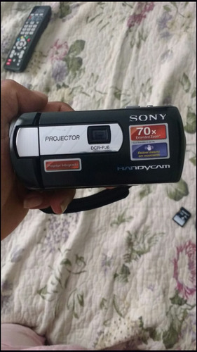 camera filmadora sony pj6