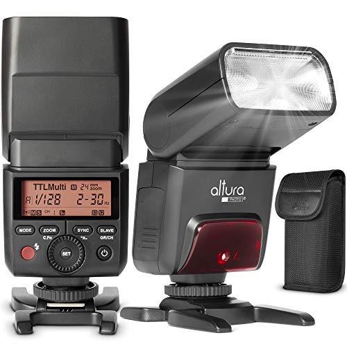 camera flash for nikon by altura photo - ap-305n 2.4ghz i-tt