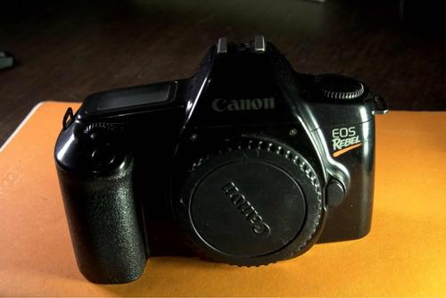 camera fotográfica analógica canon rebel eos de filme 35mm