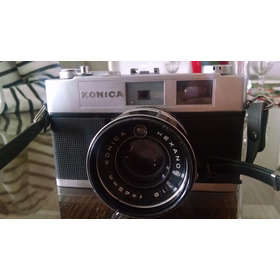 Camera Fotografica Analógica, Konica Hexanon 1:1.8, F=45mm,