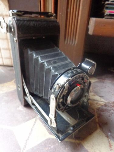 camera fotográfica antiga analógica agc pronto câmera  fole