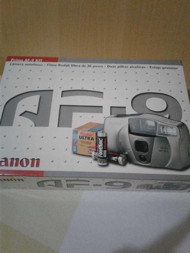 camera fotográfica compacta analógica canon prima af-9 s