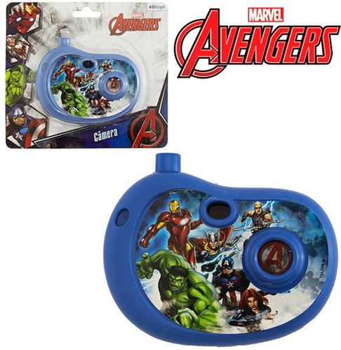 camera fotografica infantil com imagem vingadores avengers n