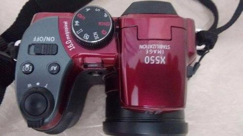 camera ge vermelha modelo x550
