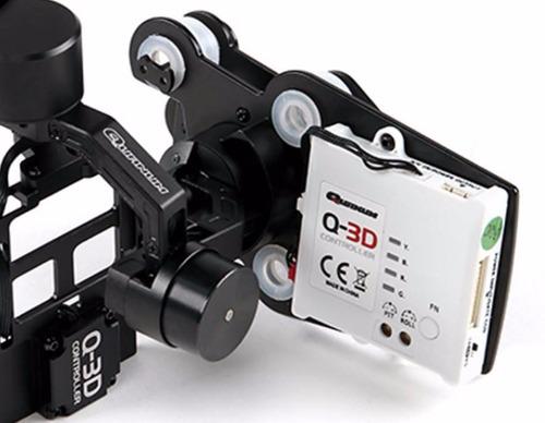 camera gimbal q-3d brushless 3-axis (precio en $)