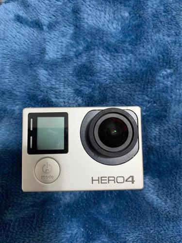 camera gopro hero 4 silver + acessórios